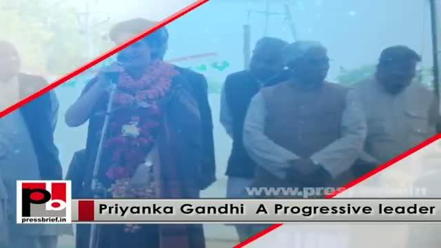Young Priyanka Gandhi Vadra - inspiring and charismatic leader like Indira Gandhi