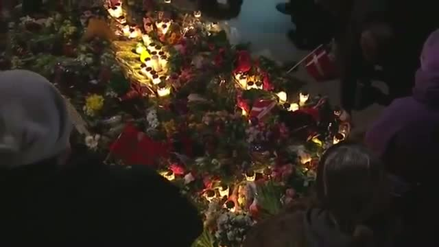 Denmark Vigil Honors Attack Victims