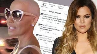 Amber Rose vs. Khloe Kardashian TWITTER WAR!! - Rose Calls Kim a 'Whore'