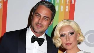 Lady Gaga engaged to Taylor Kinney - with heart-shaped ring