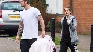 Jacqueline Jossa first baby pictures: EastEnders star & Dan Osborne with baby girl Ella