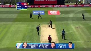 Scotland Innings Super Shots - NZ vs SCO - ICC World Cup 2015