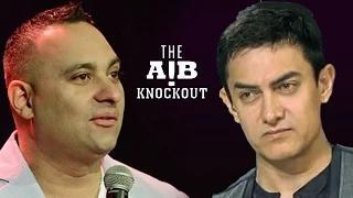 Russel Peters SLAMS Aamir Khan on AIB Knockout CONTROVERSY