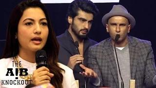 Gauhar Khan on AIB Knockout CONTROVERSY Video