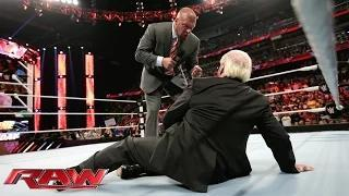 Ric Flair warns Triple H about Sting: WWE Raw, February 16, 2015