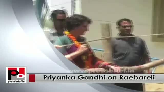 Progressive leader Priyanka Gandhi Vadra - young Congress campaigner