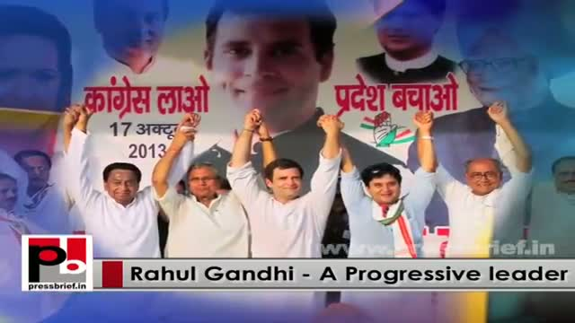Young Rahul Gandhi - a real mass leader who is never after any posts