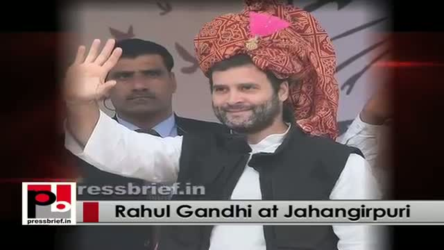 Rahul Gandhi's agenda - serve the poor and fight for their rights