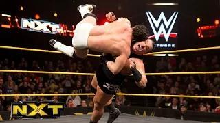 Rhyno vs. Elias Samson: WWE NXT, February 18, 2015 Video