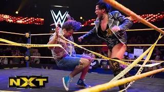Solomon Crowe debuts and shuts down CJ Parker's protest: WWE NXT, February 18, 2015
