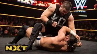 Adrian Neville vs. Kevin Owens: WWE NXT, February 18, 2015