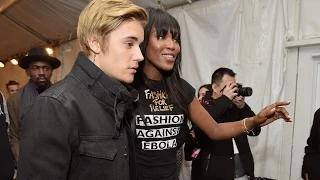 Naomi Campbell Reveals Why Justin Bieber Backed Out of Fashion Show