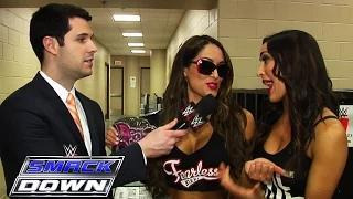 The Bellas Have No Fear - WWE SmackDown Fallout - February 19, 2015