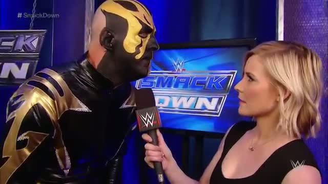Stardust interrupts Goldust's interview: WWE SmackDown, February 19, 2015