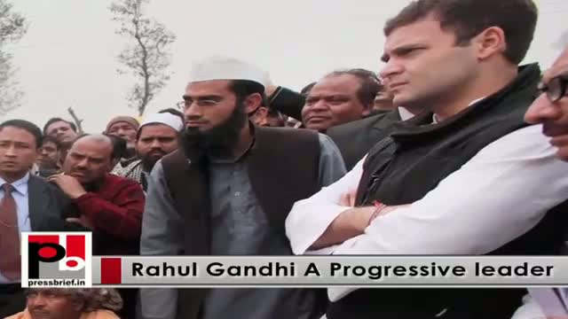 Rahul Gandhi - Perfect youth icon with forward looking vision and innovative ideas