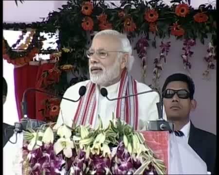 PM Narendra Modi's speech at Inauguration of new railway line from Hazaribag to Kodarma.