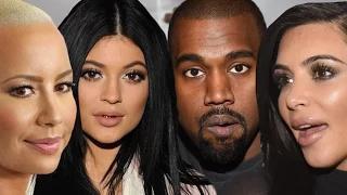 Kanye West Disses Amber Rose For Kim & Kylie Jenner