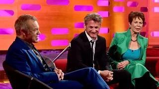 Sean Penn and the red chair - The Graham Norton Show: Series 16 Episode 19
