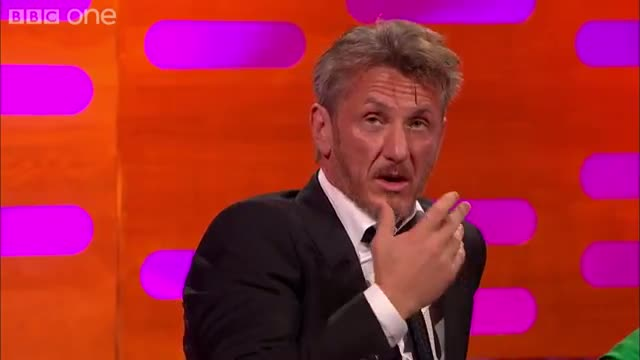 Sean Penn on his daughter's first date - The Graham Norton Show: Series 16 Episode 19