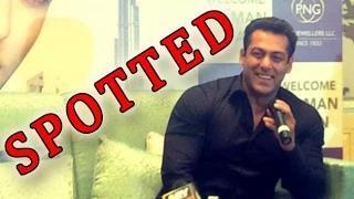 Salman SPOTTED In Dubai!