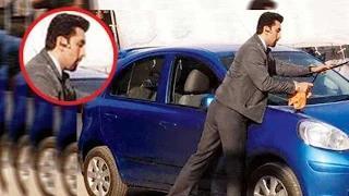 Omg! Ranbir Kapoor CLEANS A Car!