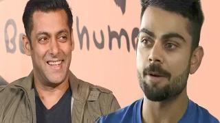 Salman Khan Calls Virat Kohli Metro$exual Video