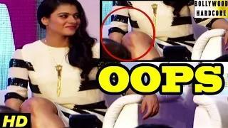 Kajol Suffers Oops Moment in Public Video