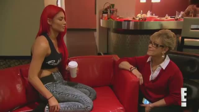 Eva Marie questions her dad's health during a trip: WWE Total Divas Preview Clip, February 22, 2015