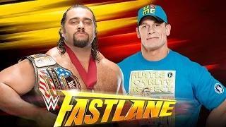 John Cena vs. Rusev - Fastlane WWE 2K15 Simulation