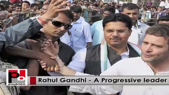 Rahul Gandhi, genuine young Congress leader with progressive agenda