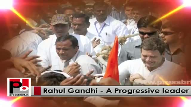 Rahul Gandhi's agenda - to fight for the poor and downtrodden