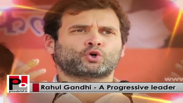 Rahul Gandhi - young and genuine mass leader who stands with people and helps them in crisis