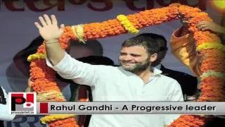 Rahul Gandhi - young Congress Vice President who always stays connected with the masses
