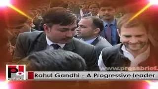Rahul Gandhi - real mass leader who always focussed on welfare of the poor