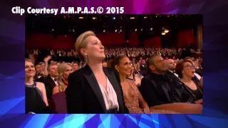 Oscars 2015: Jennifer Lopez & Meryl Streep Go Nuts For Patricia Arquette
