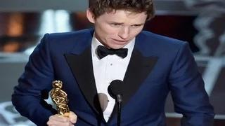 """Eddie Redmayne Wins The Oscar for the Best Actor Category """"The Theory of Everything"""" - Oscars 2015"""