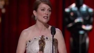 The Oscars 2015 - Julianne Moore Wins Actress In A Leading Role - VIDEO