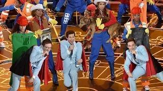 EveryThing Is Awesome - Oscars 2015 Performance - The Lonely Island