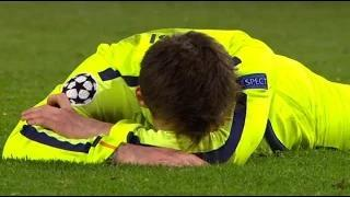MANCHESTER CITY 1-2 BARCELONA | MESSI PENALTY MISS | GOALS SUAREZ (2) AGUERO