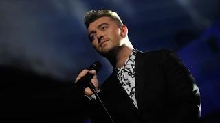 Sam Smith performs 'Lay Me Down' BRIT Awards 2015