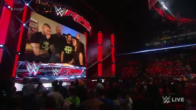 Randy Orton attends a business meeting with The Authority: WWE Raw, February 23, 2015
