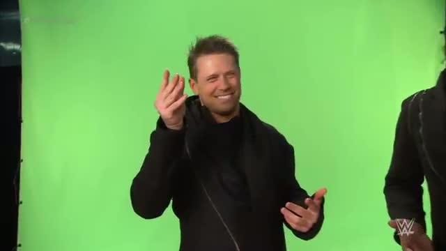 The Miz drops in for Damien Mizdow's commercial shoot: WWE SmackDown, February 26, 2015