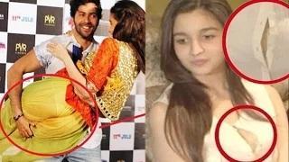 Alia Bhatt's SHOCKING Wardrobe Malfunctions | COMPILATION