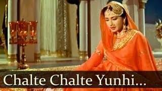 Chalte Chalte Yunhi Koi Mil Gaya Tha - Pakeezah (1972) - Lata Mangeshkar
