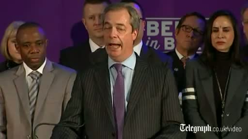 Farage: Let's turn immigration from a negative into a positive