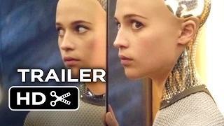 Ex Machina Official Trailer #1 (2015) - Domhnall Gleeson, Oscar Isaac Movie HD - Hollywood Trailer