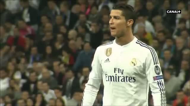 Cristiano Ronaldo angry, ''Shame, shame '' | 2015 Real Madrid 3-4 Schalke