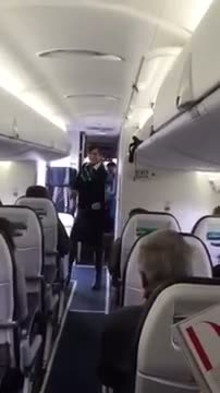 Funky Flight Attendant