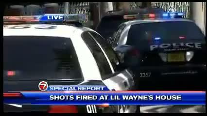 Shooting at Lil' Wayne's Miami Beach Home - 4 People Shot At Lil Wayne's Mansion (VIDEO)