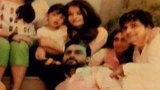 Aishwarya Rai Bachchan's HOLI BASH with Aaradhya Bachchan